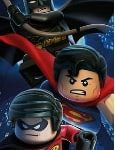 Toalla lego de Superman Batman y Robin